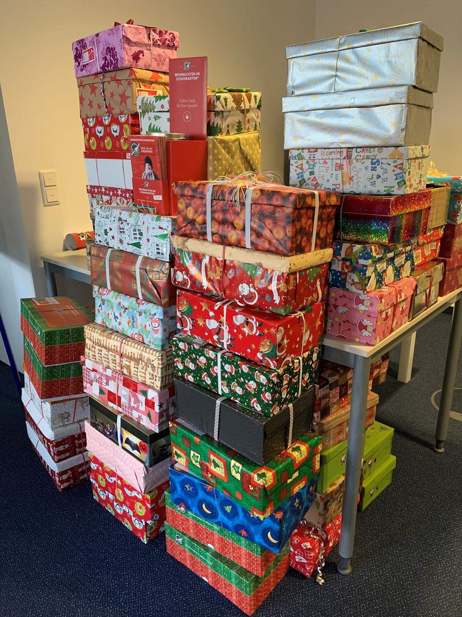 Schuhkarton Weihnachten.Wohin Geht Mein Schuhkarton Bruneo Business Center Bruhl