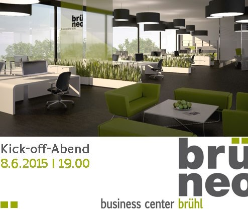 brüneo business center brühl startet – am 8. Juni 2015